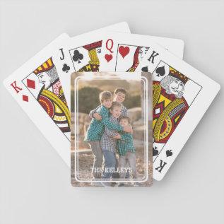 Custom Photo Playing Cards at Zazzle