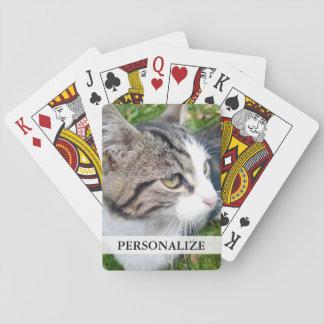 Custom photo playing cards | Add your image here