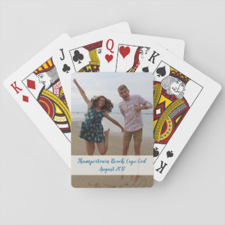 Custom photo playing cards - celebrate fun event