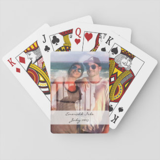 Custom photo playing cards for Deb Nichols