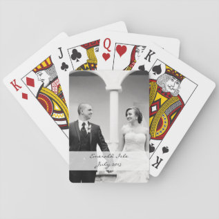 Custom Photo Playing Cards - Personalize at Zazzle