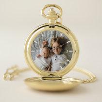 Custom Photo Pocket Watch
