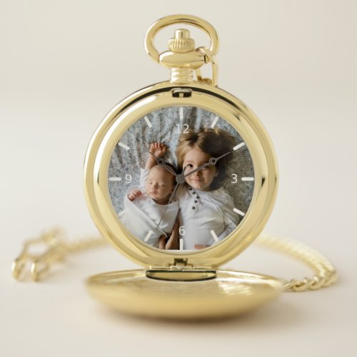 Custom Photo Pocket Watch