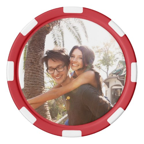 Custom Photo Poker Chip Set