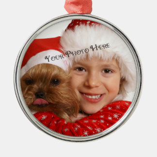 Custom Photo Premium Holiday Ornament