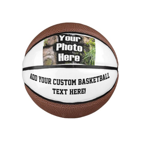 Custom Photo Printed Basketball Ball