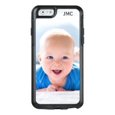 Custom Photo Protective Phone Case With Monogram at Zazzle
