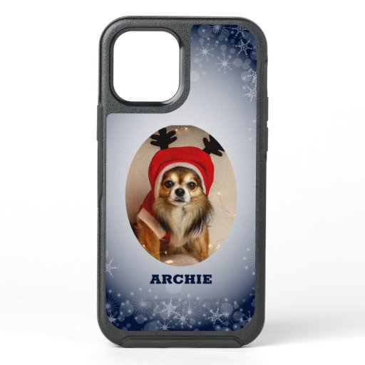 Custom Photo Puppy OtterBox Symmetry iPhone 12 Case