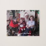 "Custom Photo Puzzle<br><div class=""desc"">Fun custom photo puzzle, ready for your own photograph. Personalize the white text, at the bottom of the puzzle, or just delete the text to leave blank. Great for kids and the family and makes a fun gift idea. Add your pet's photograph or favorite vacation picture to name a few...</div>"