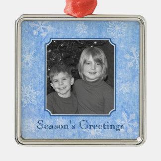 Custom Photo Snowflakes Ornament