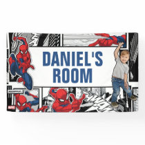 Custom Photo Spider-Man Banner