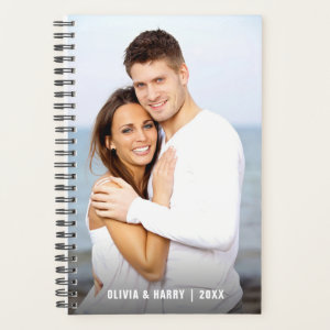 Custom Photo | Spiral Weekly/Monthly Planner