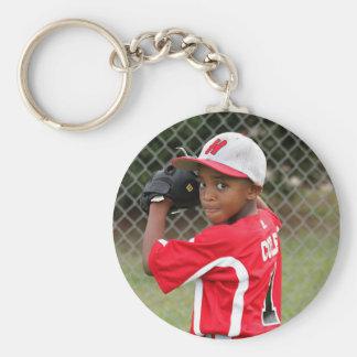 Custom Photo Sports Keychain - personalized