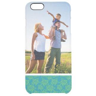 Custom Photo Starfish Crowd Pattern Clear iPhone 6 Plus Case