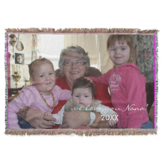 Custom Photo template Personalized Blanket