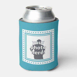 CUSTOM PHOTO, TEXT & COLOR can cooler