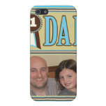 Custom Photo & Text iPhone 4 Case For Dad