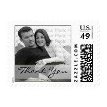 Custom Photo Thank You Wedding Postage