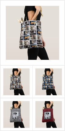 Custom Photo Tote Bags