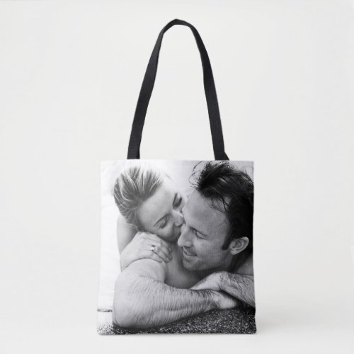 Custom Photo Upload Design Your Own Double Sided Tote Bag