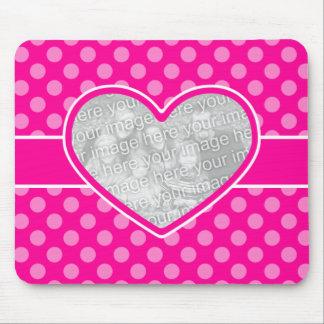 Custom Photo Valentine Keepsake Mouse Mat