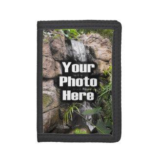 Custom Photo Vertical Tri-fold Wallets