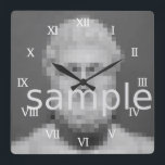 """Custom photo wall clock 