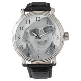Custom Photo Watch at Zazzle