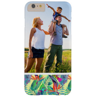 Custom Photo Watercolor Humminbirds In The Jungle Barely There iPhone 6 Plus Case