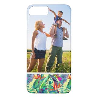 Custom Photo Watercolor Humminbirds In The Jungle iPhone 7 Plus Case