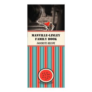 Custom Photo Watermelon Recipe Card (blank) Personalized Rack Card