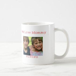 Custom Photo -We love Mommy mugs