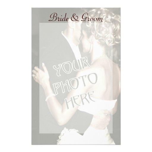 Custom  Photo Wedding  Stationery