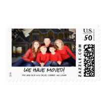 Custom Photo We've Moved New Address Announcement Postage
