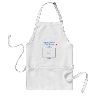 Custom Photo! Worlds Greatest Blue Persian Adult Apron