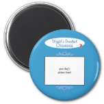 Custom Photo! Worlds Greatest Chiweenie 2 Inch Round Magnet