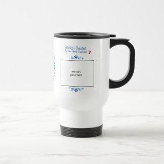 Custom Photo! Worlds Greatest Cream Point Siamese Travel Mug
