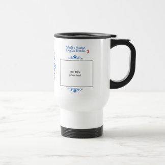 Custom Photo! Worlds Greatest English Boodle Coffee Mugs
