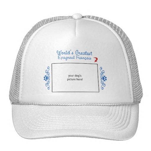 Custom Photo! Worlds Greatest Épagneul Français Trucker Hat