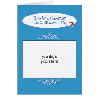 Custom Photo Worlds Greatest Estrela Mountain Dog Cards