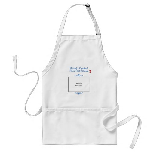 Custom Photo! Worlds Greatest Flame Point Siamese Aprons