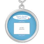 Custom Photo! Worlds Greatest Great Dane Personalized Necklace