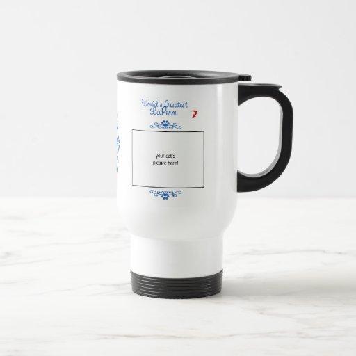 Custom Photo! Worlds Greatest LaPerm 15 Oz Stainless Steel Travel Mug