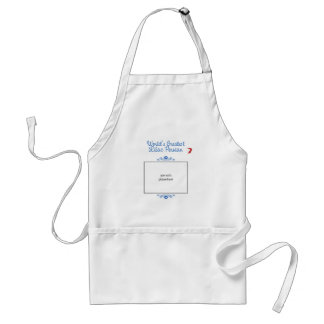Custom Photo! Worlds Greatest Lilac Persian Adult Apron