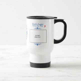 Custom Photo! Worlds Greatest Shiba Inu Mix Travel Mug