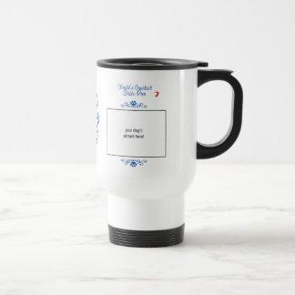 Custom Photo! Worlds Greatest Shih-Poo Coffee Mugs