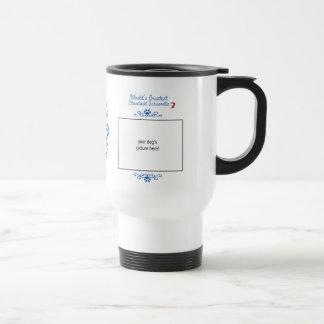 Custom Photo! Worlds Greatest Standard Schnoodle Travel Mug