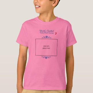 Custom Photo! Worlds Greatest Tortie Point Siamese T-Shirt