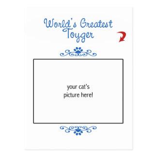 Custom Photo! Worlds Greatest Toyger Postcard
