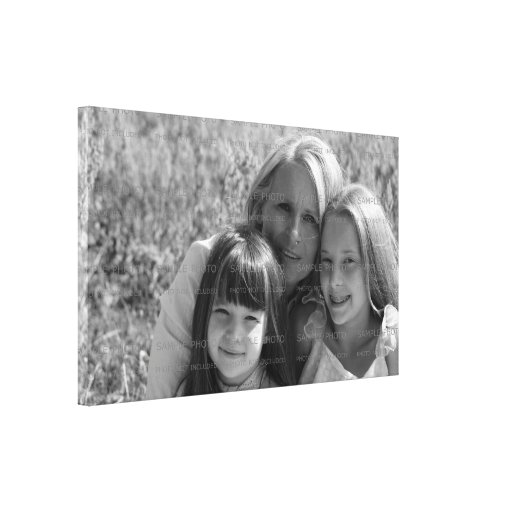 Custom Photo Wrapped Canvas   Mother's Day Canvas Print